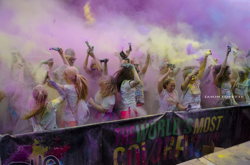 Run or Dye -Sussex, NB - June 2014